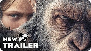 WAR FOR THE PLANET OF THE APES Film Clips & Trailer (2017) Planet Of The Apes 3