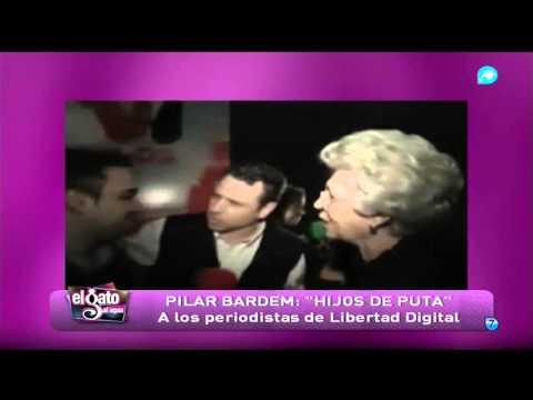 Pilar Bardem llamó 'hijos de puta' a los periodistas de Libertad Digital