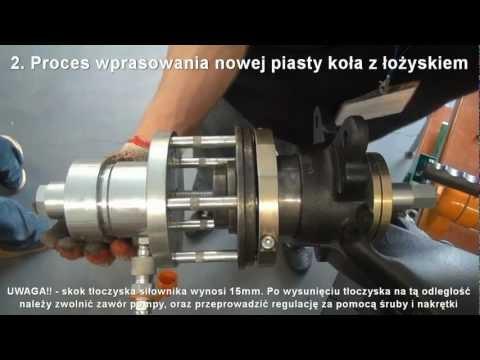 S0000592 - Przyrząd do wymiany piasty koła VW. Seat. Skoda VW T5 - uniwersalny hydrauliczny