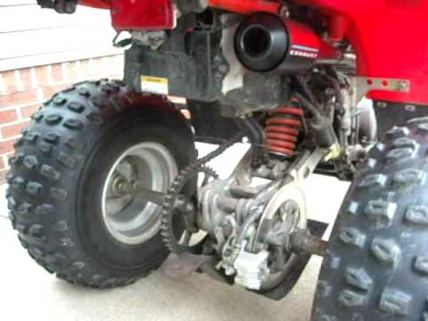 Suzuki LT230E Quad Runner with Cobra Exhaust Installed Quad Sport ATV LT230S