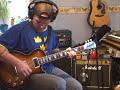 Blues jam with a Marshall JCM 800 Combo (mod.4210)
