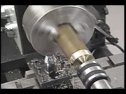Metal lathe turning