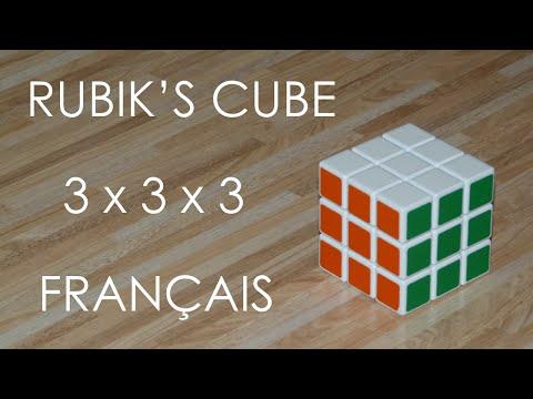 Résoudre le Rubik's Cube 3x3x3 - FRANCAIS
