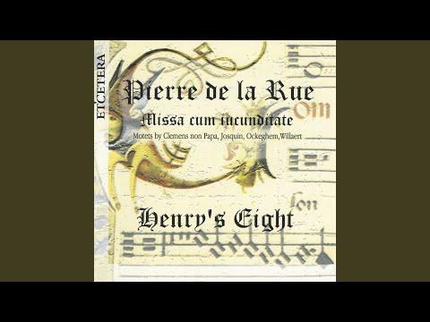 Pierre de Manchicourt - O crux splendidior