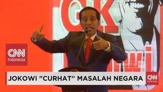 "Download Lagu Meledak-ledak, Presiden Jokowi ""Curhat""; Isu Utang, PKI, Indonesia Bubar 2030, Sampai Kaos Gratis STAFABAND"