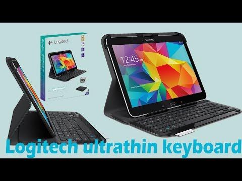 Samsung Galaxy Tab 4 10.1 Logitech Keyboard review ✔