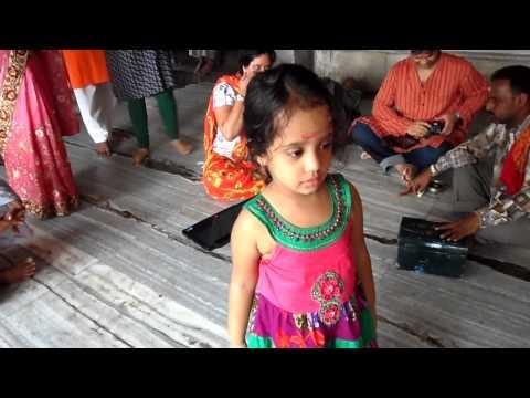 Aadya's Pre Mundan Dance... video