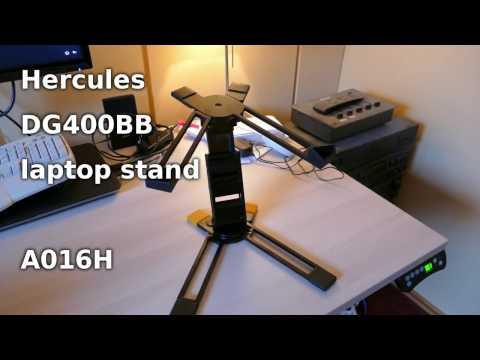 Hercules DG400BB A016H laptop stand wobble problem