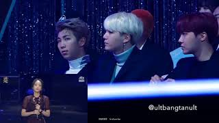 Download Lagu BTS reaction to HEIZE @GDA 2018 Gratis STAFABAND