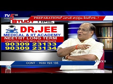 How To Prepare For Medical & IIT | Dr.JEE Academy | Study Time | TV5 News