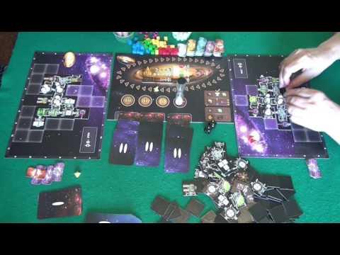 Космические дальнобойщики 2/2 часть - играем в настольную игру, Galaxy Trucker board game