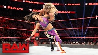 Bayley vs. Charlotte Flair - Raw Women's Championship Match: Raw, Feb. 13, 2017