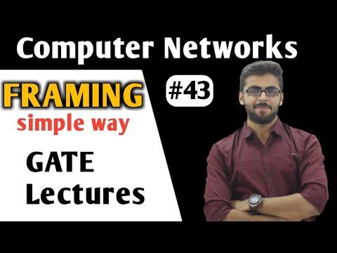Framing in Computer Networks in HINDI | Framing in Networking in HINDI | Computer Networks GATE