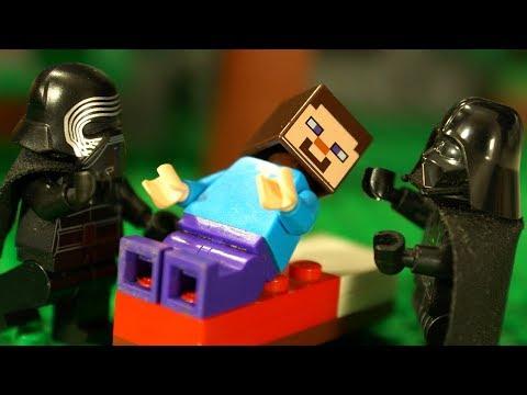 ЛЕГО НУБик ⚡️ ЗВЁЗДНЫЕ ВОЙНЫ Майнкрафт Мультики для Детей LEGO Minecraft Мультфильмы