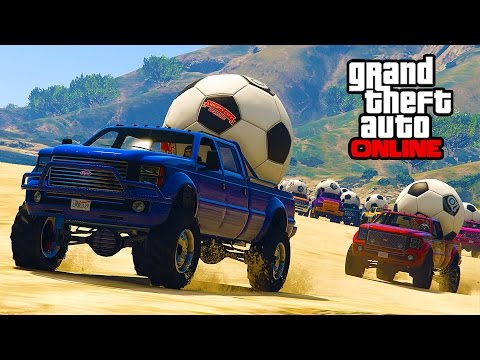 OFFROAD CHALLENGE: DON'T DROP THE BALL! || GTA 5 Online || PC (Funny Moments)