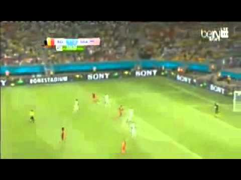 Belgium vs USA 2 1 All Goals World Cup 2014