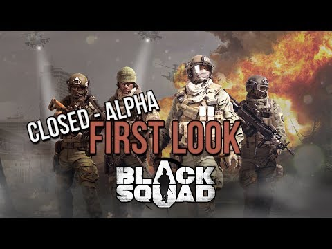 [CLOSED-ALPHA] Black Squad First Look & Gameplay 60fps [ENG/GER]