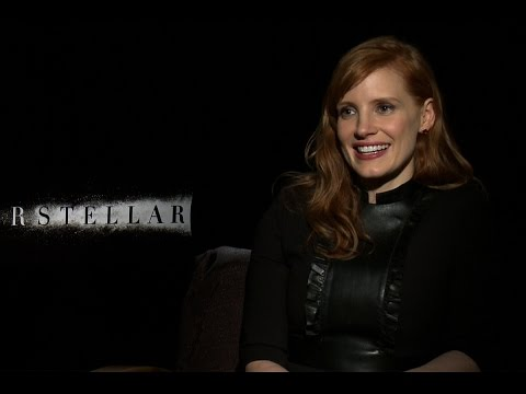 Jessica Chastain on not meeting Christopher Nolan until 'Interstellar' wardrobe fitting