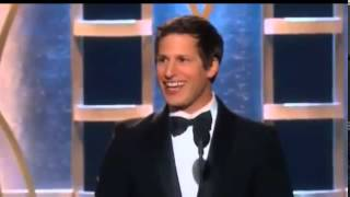 Andy Samberg Wins Golden Globe Awards 2014 | HD