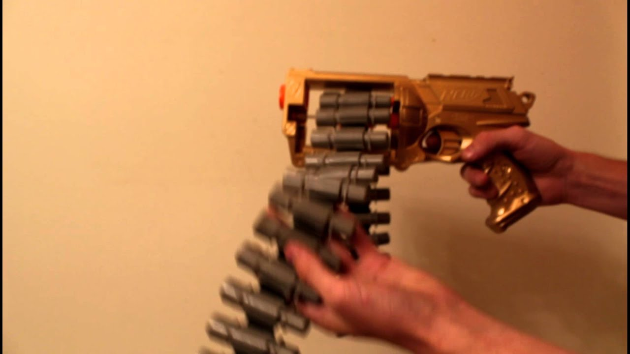 how to make a nerf gun belt