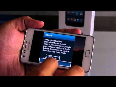 Samsung Galaxy S2 Plus. unboxing y análisis en español