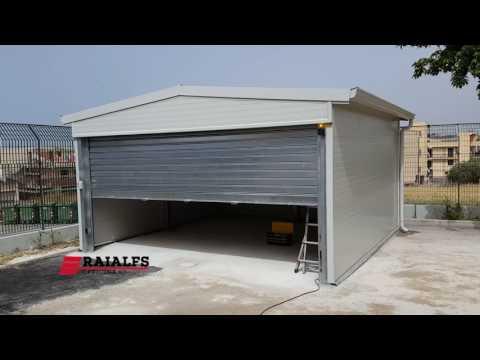 Box Garage con Serranda a Salire Automatica Raialfs Srl www.officineraialfs.it