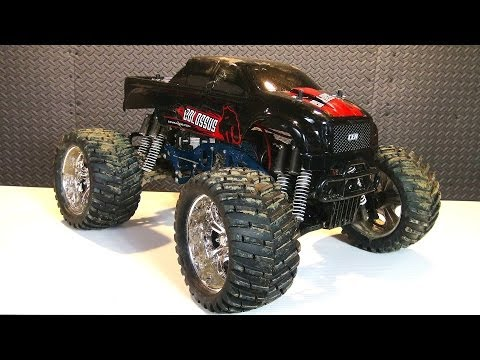 RC ADVENTURES - CEN COLOSSUS 4X4 Monster Truck - Suspension Arm Repair