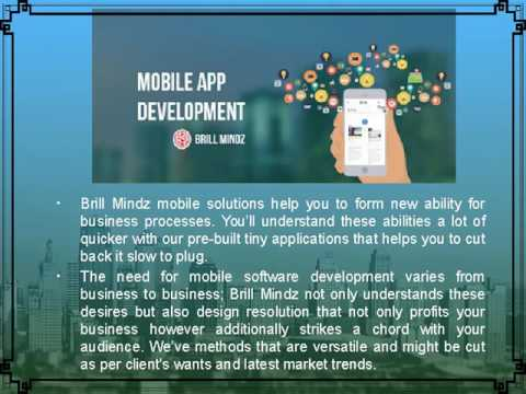 Mobile Application Developmentcompany bangalore