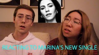 Marina And The Diamonds Handmade Heaven Reaction