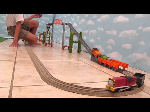 New Thomas And Friends Trackmaster Toy Train Review 2014 - 11