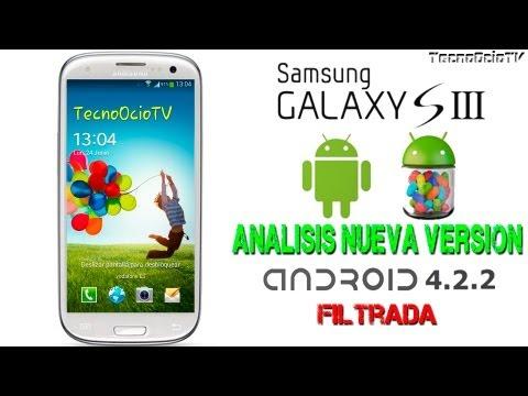 Novedades Nueva Versión 4.2.2 Oficial Samsung Galaxy S3 (Filtrada)