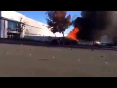 Porsche Carrera gt Paul Walker Porsche Carrera gt on Fire