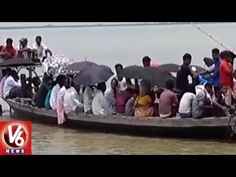 Heavy Rains Lashes Delhi, Haryana And Bihar, Leaves Normal Effected | V6 News