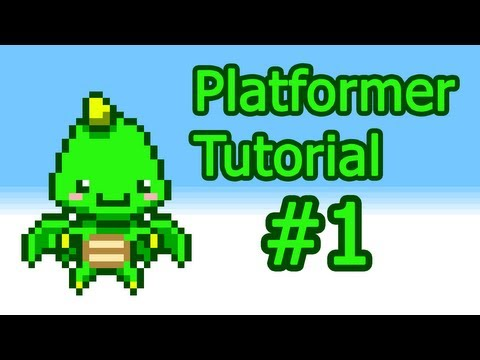 Java 2D Game Programming Platformer Tutorial - Part 1 - The Game State Manager