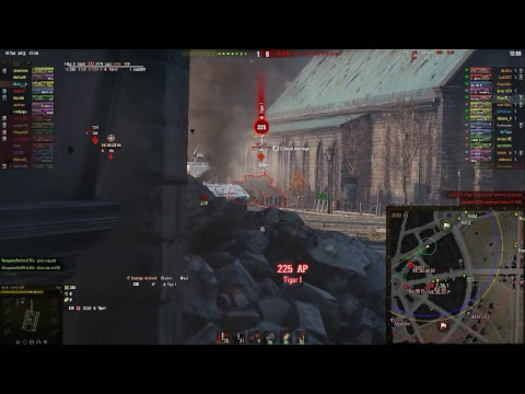 World of Tanks Live Game Play