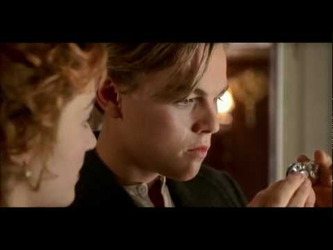 Titanic - My heart will go on with movie dialogue - Jack & Rose...