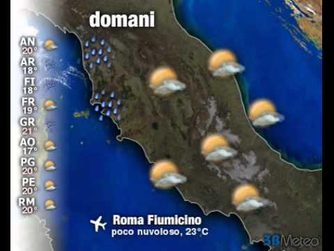 Meteo Italia a 3 giorni del 03/11/2011