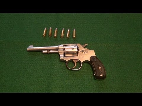Smith & Wesson Model Of 1903 Hand Ejector 32 S&W Long Revolver