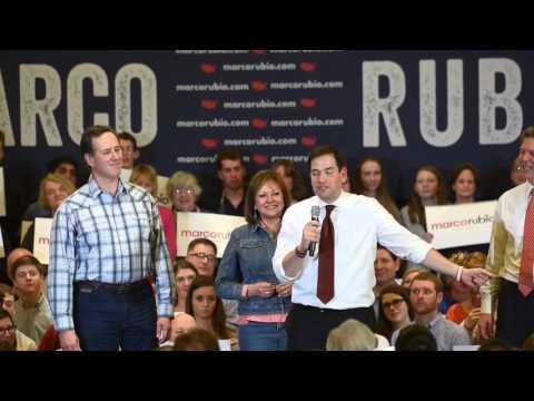 GOP hopeful Rubio speaks in Overland Park