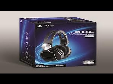unboxing pulse headset sony portugues,BR