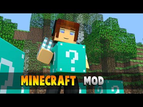 Minecraft Mod: Lucky Block Azul Mod !! ( Muito Mais Itens e Mobs Bizarros) Lucky Block Blue Mod