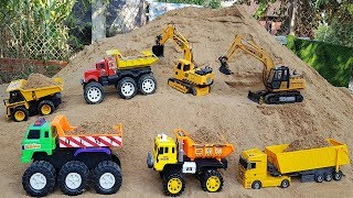 Construction Vehicles Toys for Children Excavator Dump Truck Cars Toys | Vic Vic