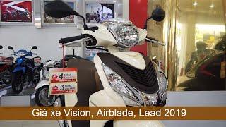Hỏi giá Honda Vision, Airblade, Lead 2019 tại Hồng Đức Cần Thơ