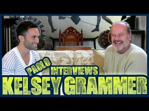 Exclusive Interview With Kelsey Grammer at His Home