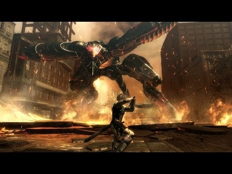 Metal Gear Rising: Revengeance Boss Battle 'Metal Gear RAY Gameplay
