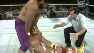 Haku VS Ultimate Warrior(1989-02-06 WWF PRIME TIME WRESTLING)
