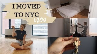 I MOVED TO NYC - VLOG | Louise Cooney