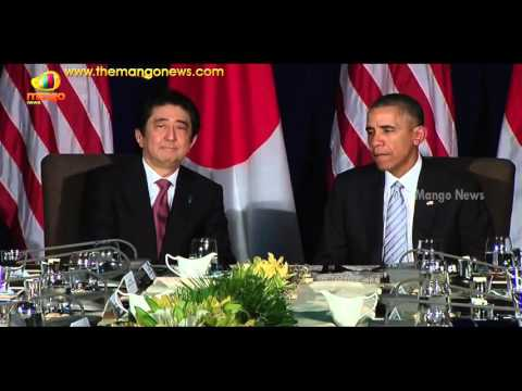 Obama Meets Japanese PM Shinzo Abe | Japan Considers Sending Navy To Aid US In South China Sea