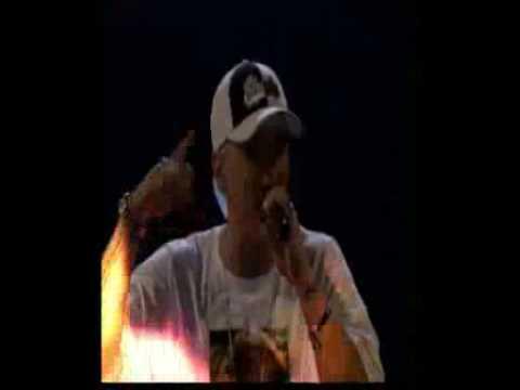 Lindsay Lohan Eminem - Ass Like That & Mockingbird live