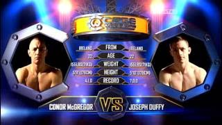 Joseph Duffy vs Conor McGregor